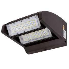 80W LED Rotatable Wall Pack