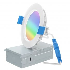 Smart 6in RGB+CCT Tunable Down Light